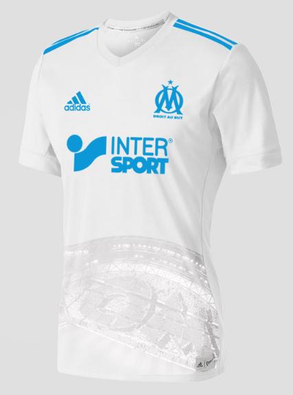 Maillot Extérieur Olympique de Marseille pas cher