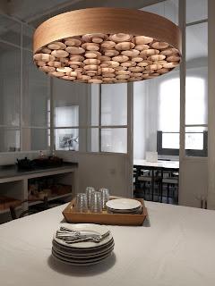 Lámpara de Diseño Madera