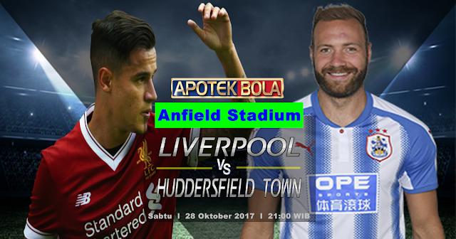 Prediksi Liverpool vs Huddersfield Town 28 Oktober 2017