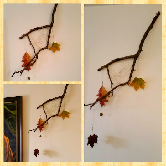 Autumn Leaf Dream Catcher