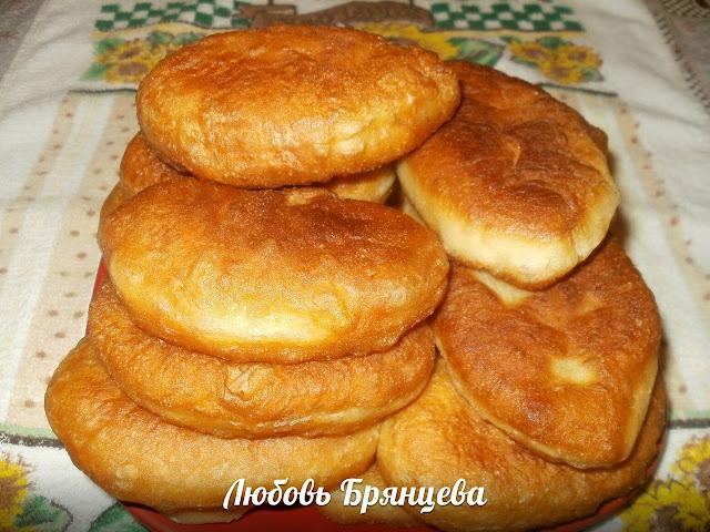 Рецепт дрожжевых жаренных пирожков
