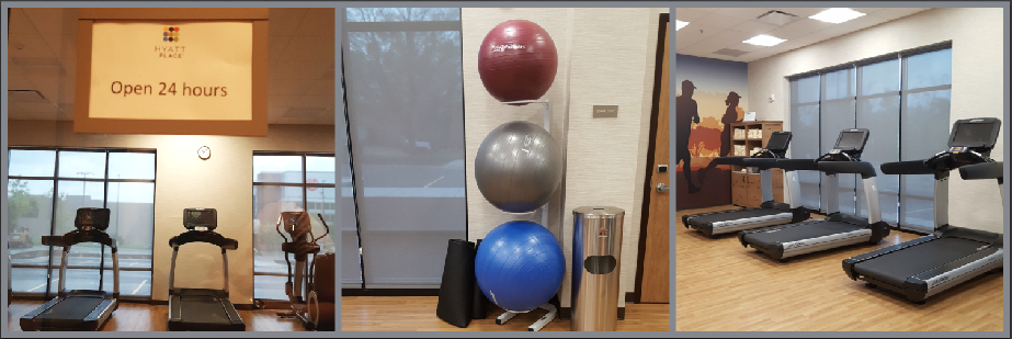 Hyatt Place Ann Arbor exercise room