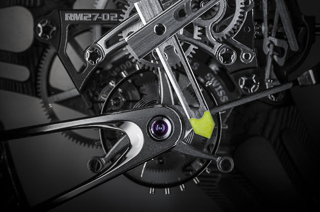 Richard Mille 27-02 calibre