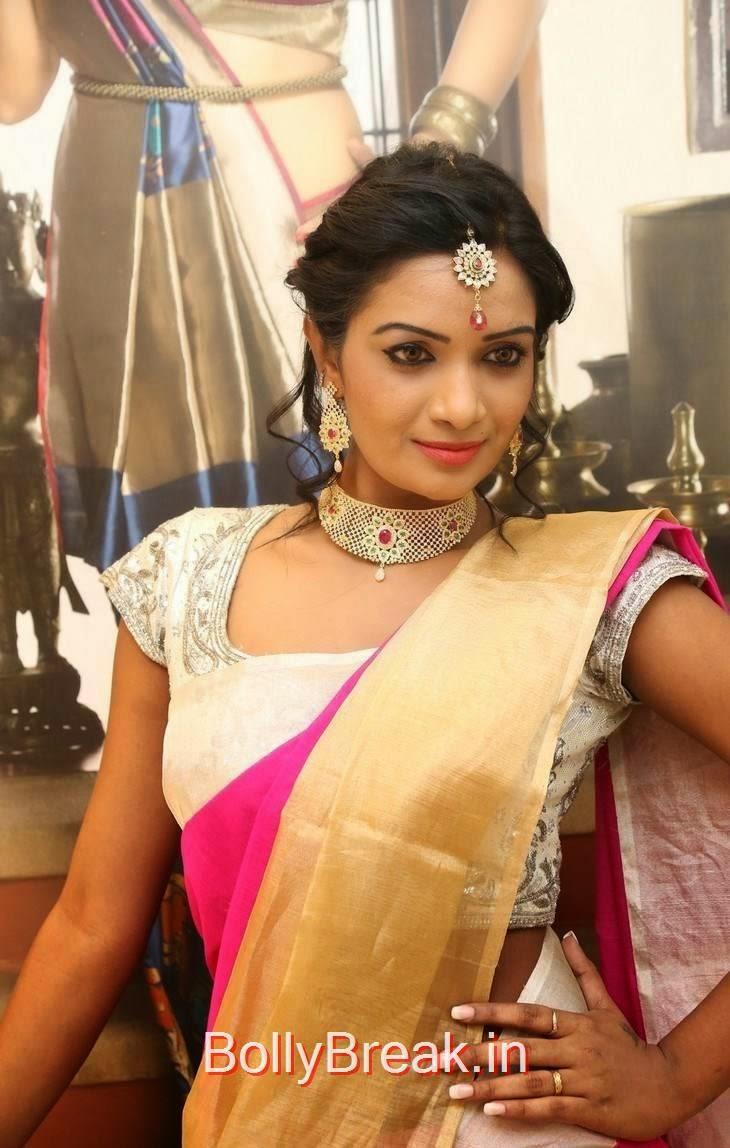 Telugu Actress SriVani Reddy, Sreevani Reddy Hot Hd Images in Saree