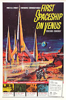 Portada película Destino Espacial Venus