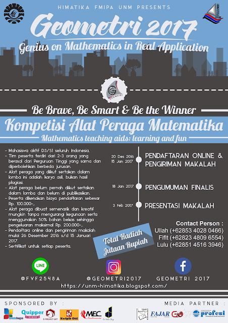 Kompetisi Alat Peraga Matematika (KAPM) Geometri 2017