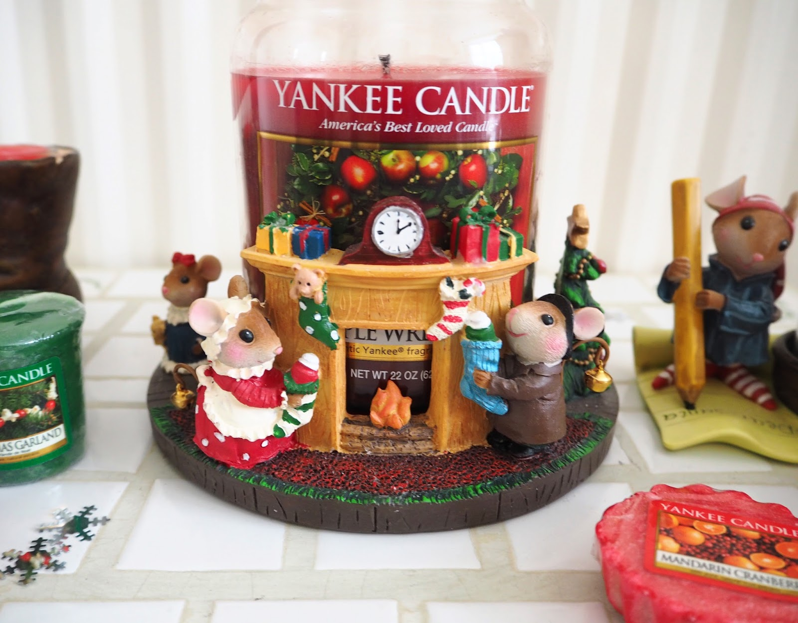 My Christmas Yankee Candles Night Before Christmas | Katie Kirk Loves