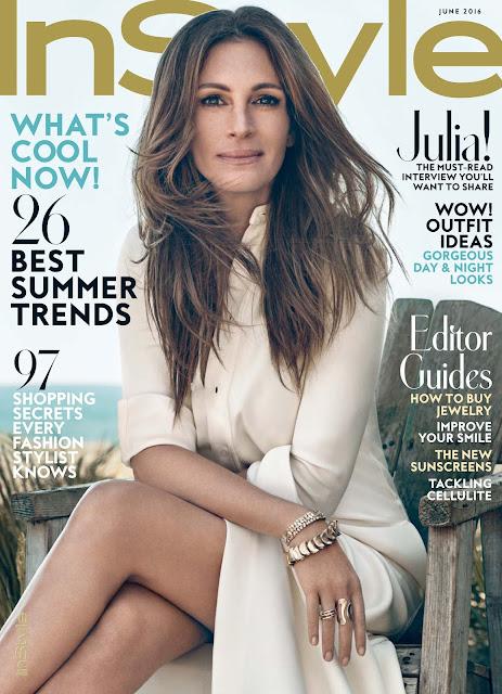 Actress, @ Julia Roberts - InStyle Magazine, June 2016