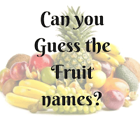 Missing Vowels Quiz-Can You Guess the Fruits?