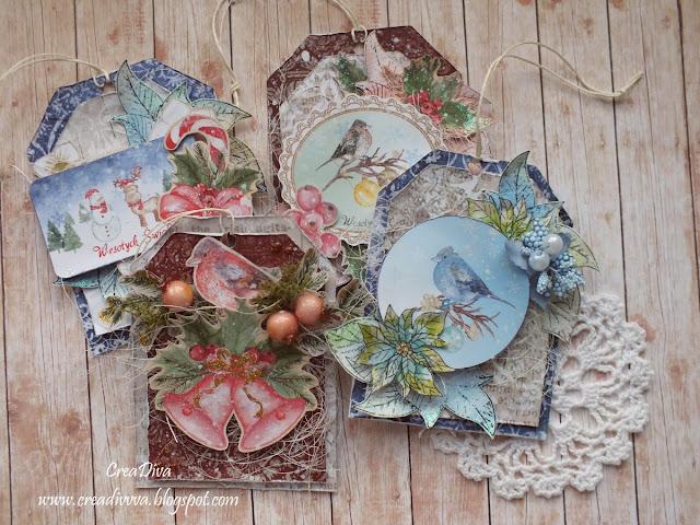 Świąteczne zawieszki / Christmas Tags