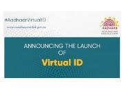Aadhaar Virtual Id  Generate.