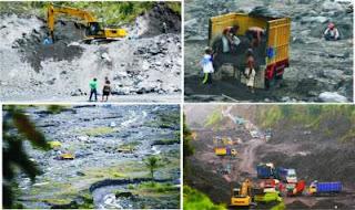 penambangan pasir ilegal kabupaten lumajang jawa timur