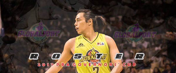 List of GlobalPort Batang Pier Roster 2017 PBA Governors' Cup