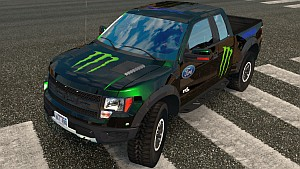 Ford F-150 Raptor Monster Energy skin
