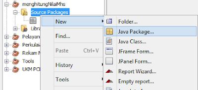 Program Menghitung Nilai Mahasiswa Dengan Java GUI