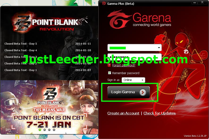 download game point blank garena