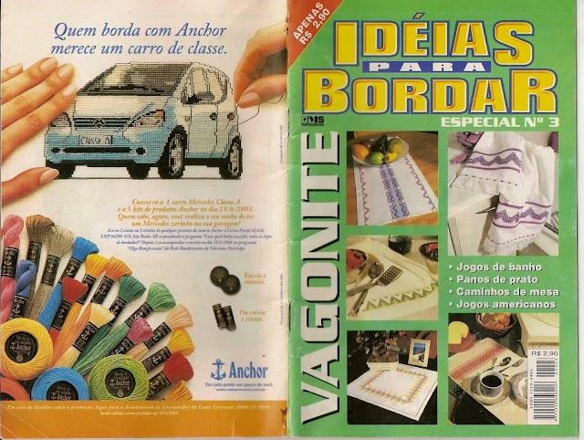 Ideias Para Bordar Vagonite Especial Nº 3-Revista
