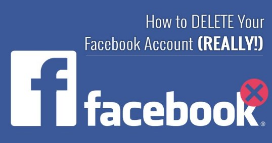 The Way to Delete Facebook Account