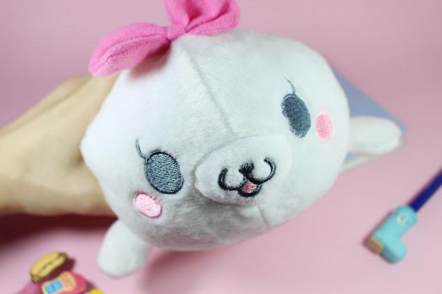 january girl unboxing video cute little items adorable toys review  Techi Techi Gomarachi Plush