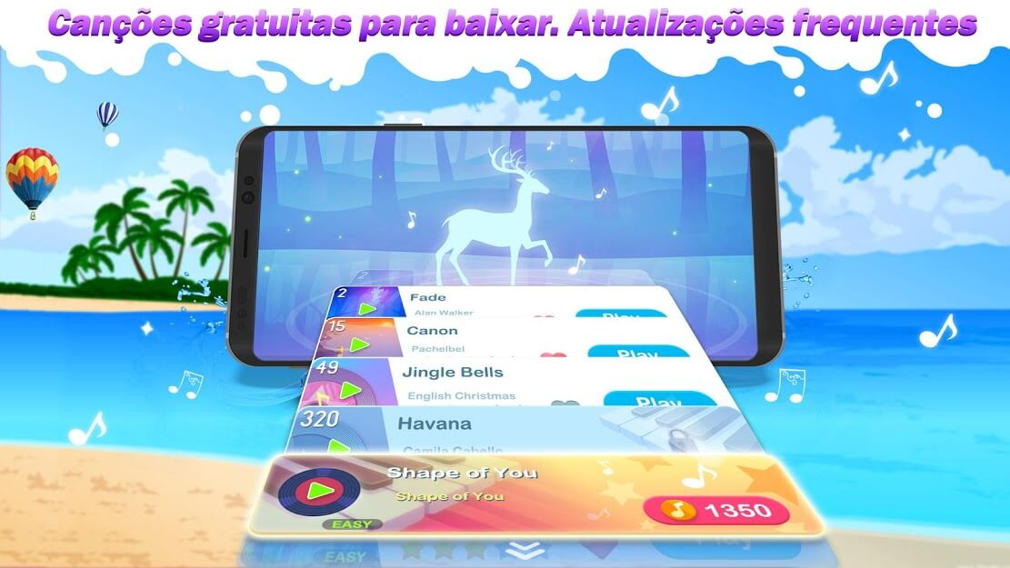 Dream Piano - Music Game v 1.72.0 apk mod DINHEIRO INFINITO