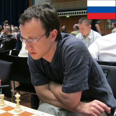 El ajedrecista GM Vadim Zvjaginsev