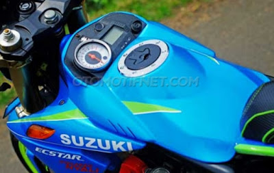 Foto Modifikasi Suzuki Satria F150 Edisi MotoGP 2016