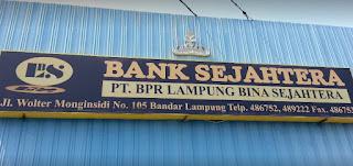 Lowongan Kerja di PT. Bank Perkreditan Rakyat (BPR) Bina Sejahtera Lampung September 2016