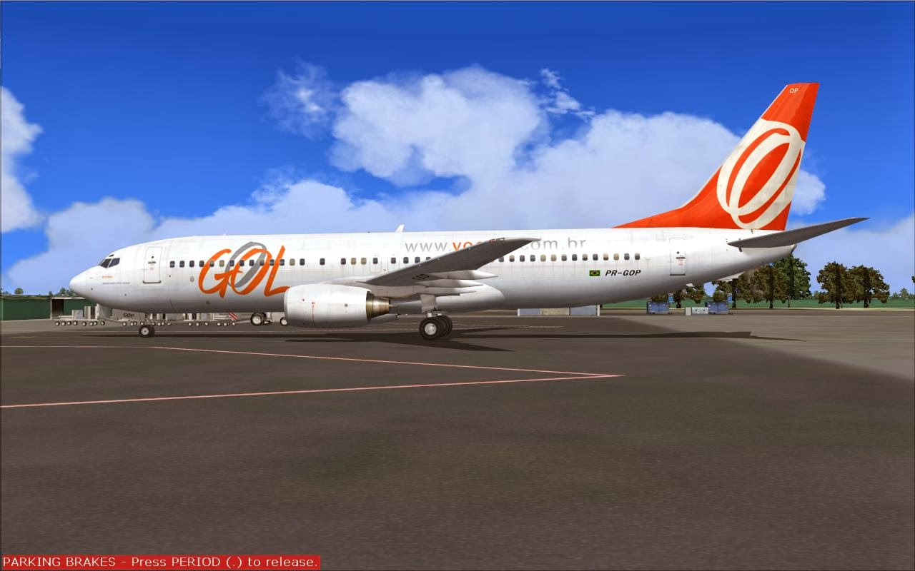 FS2004 REPAINTS: TDS 737-800 Gol PR-GOP Victoria (UPDATED)