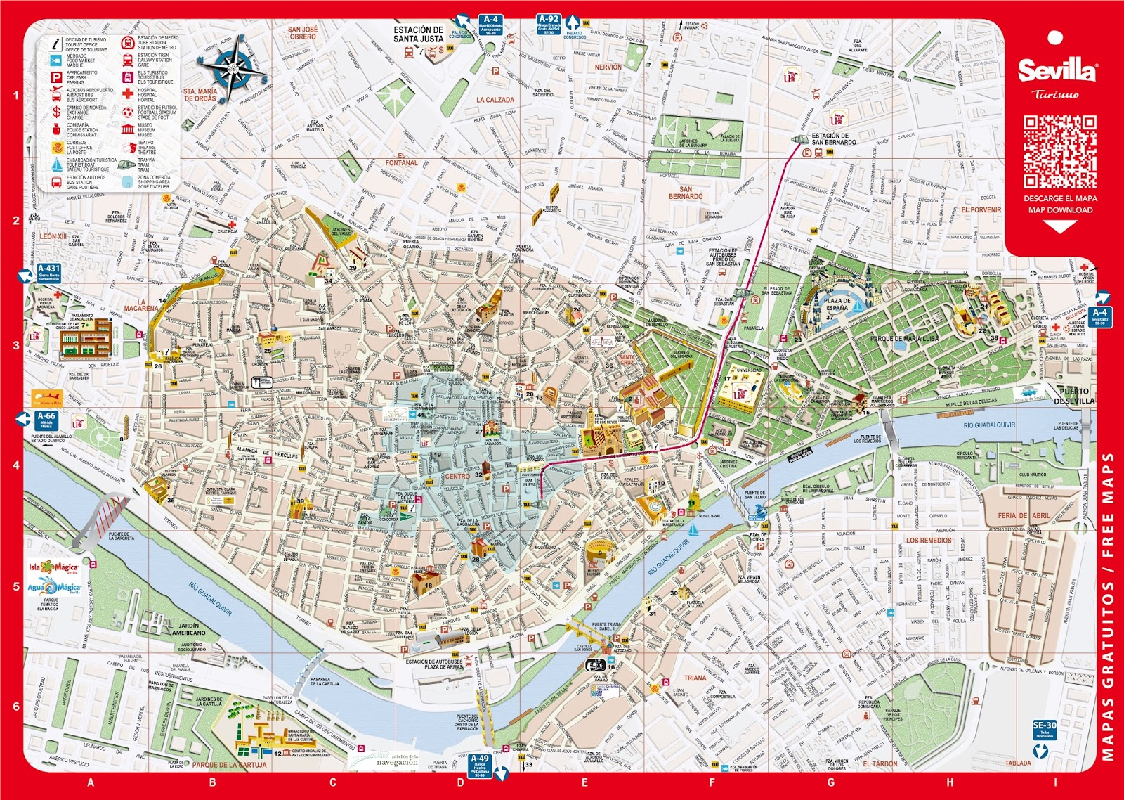 Comentario De Plano Urbano Sevilla