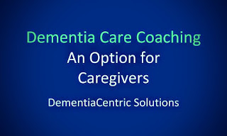 Dementia care coaching for caregivers can be very effective.