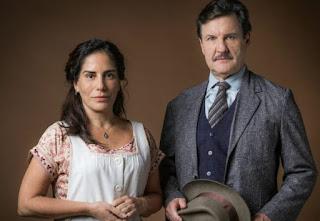 Lola e Julio. Foto – Globo.