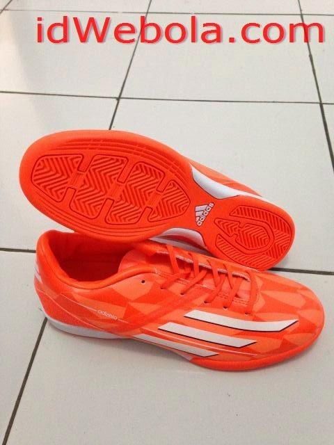 Sepatu Futsal Adizero Crazylight Orange
