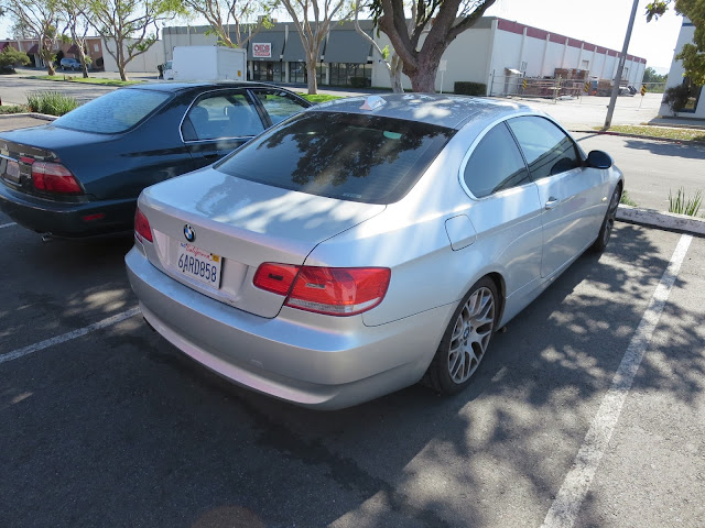 BMW 328i before color change from silver to black.