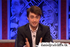 Daniel Radcliffe hosting Have I Got News for You