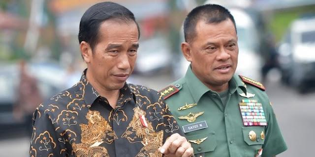 Pensiun dari TNI, Gatot: 'Saya bisa Mengalahkan Pak Jokowi'