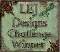 LEJ Designs Challenge No. 60 - Recycle, Upcycle Or Use Household Items