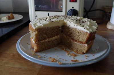 Irish Coffee Cream Cake Recipe Lorraine