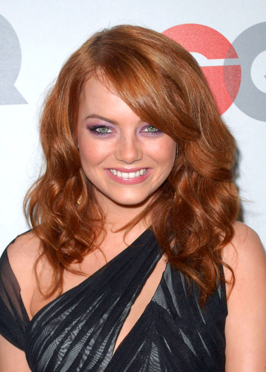 celebrity hairstyles emma stone 2013 hair trends