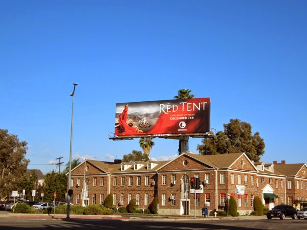 Red Tent mini-series billboard