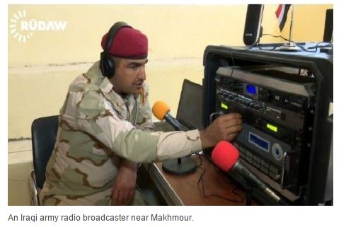 Shortwave Central: Iraqi radio station aimed at ISIS-held population