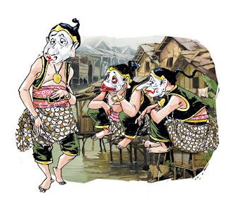 Pantun Cinta Lucu Bahasa Jawa