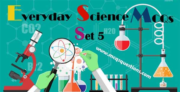 Everyday Science MCQs for PPSC