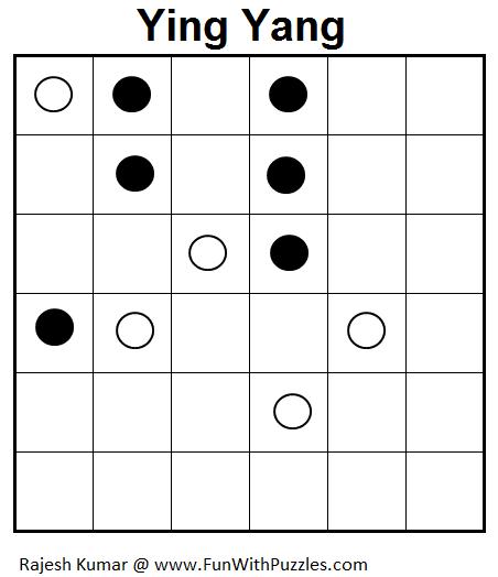 Ying Yang (Mini Puzzles Series #17)