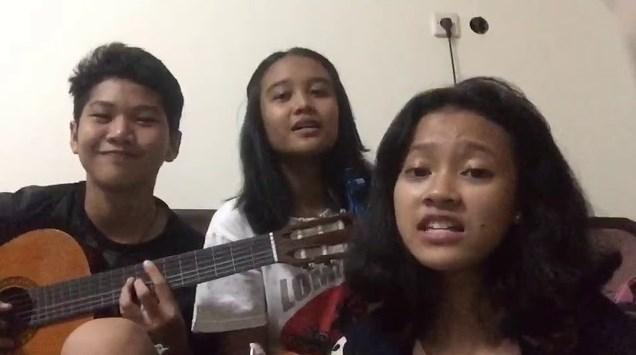 Video Musik HIVI! - Remaja Cover By Meiviary Azahra Dito Dengan Lirik