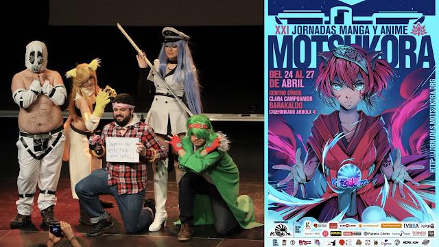 Concurso de cosplay y cartel de las jornadas