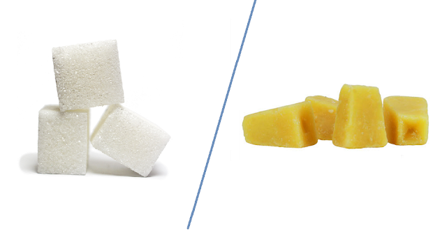 Which is more harmful Sugar or Jaggery/Gur?
