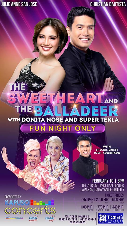 The Sweetheart and the Balladeer Concert in CDO