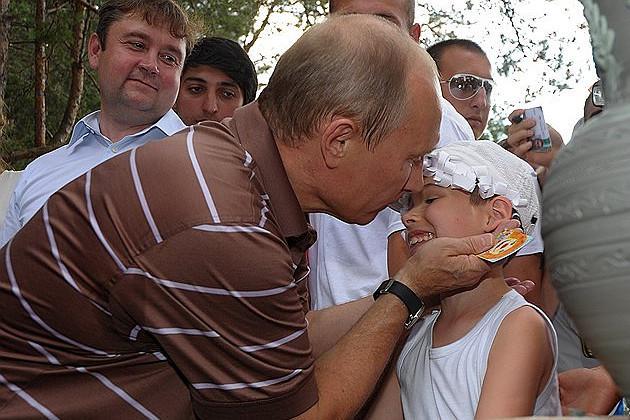Путин - педофил