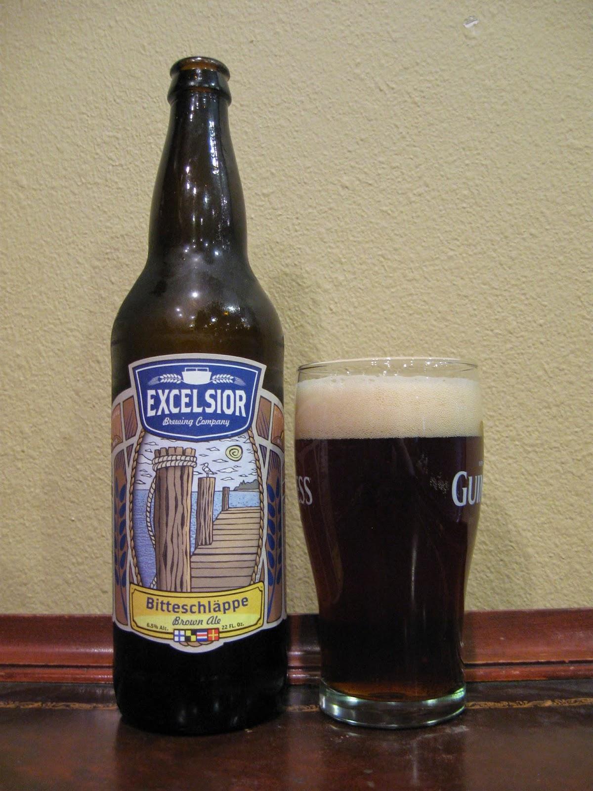doing beer justice excelsior bitteschlappe brown ale