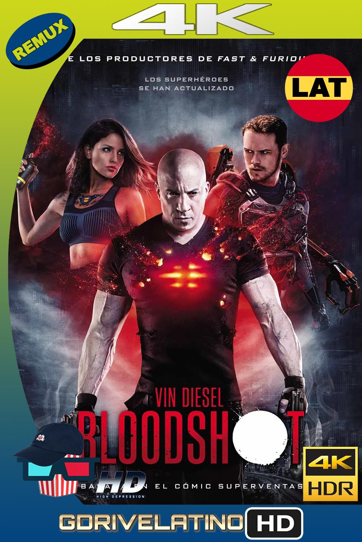 Bloodshot (2020) BDRemux 4K UHD HDR Latino-Inglés MKV